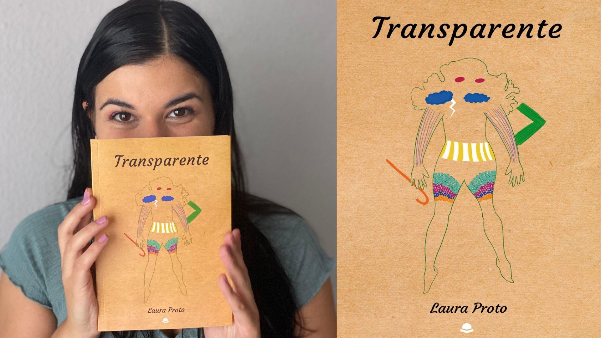 «Transparente»: La ópera prima en la literatura de Laura Proto con la que el lector viaja a su mundo aparte